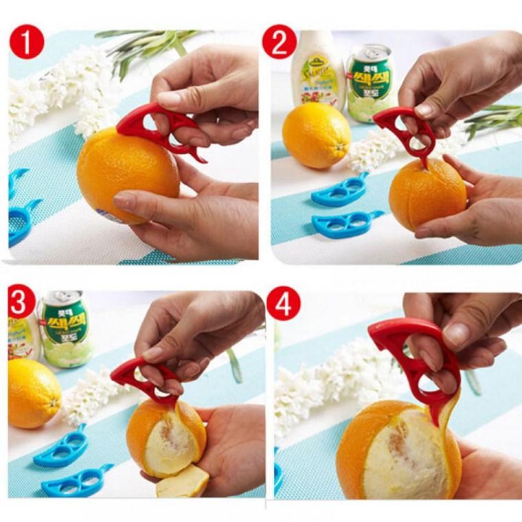 Как очистить цитрусы проще и легче 1