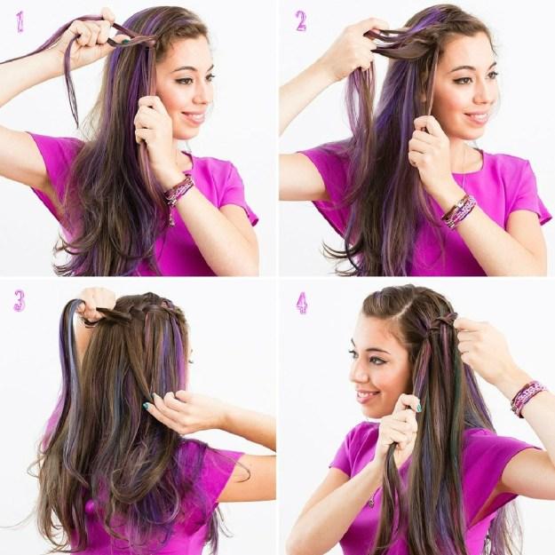 Как сделать красивые прически для длинных волос 7