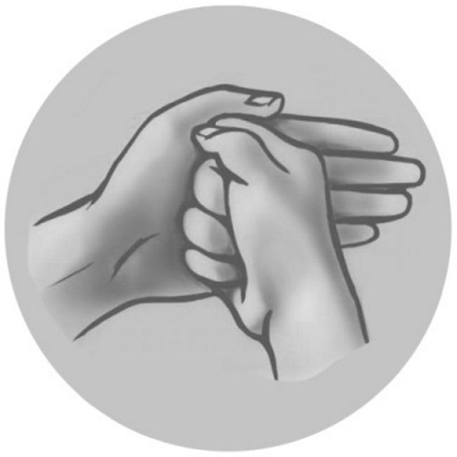 Как сделать мудру «Щит Шаббалы» от негативной энергии 1