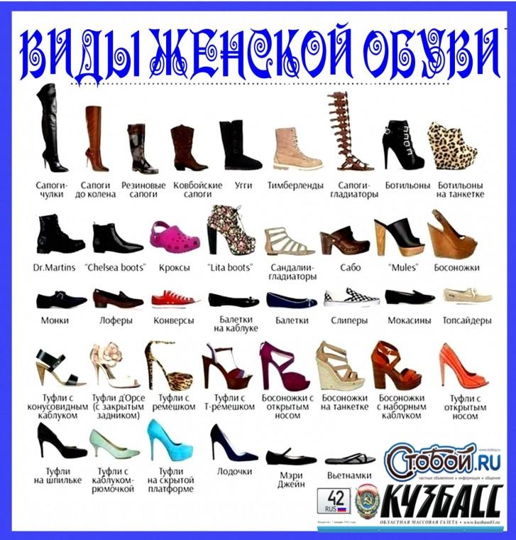 Путеводитель по женской обуви: называем правильно 0