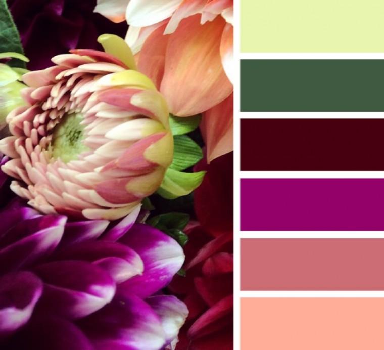 Яркие и сочные сочетания цветов 4