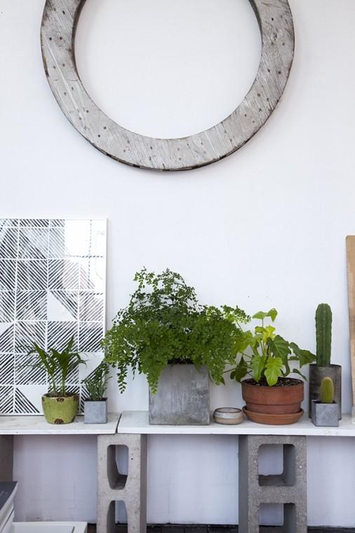 Как использовать шлакоблоки в декоре дома 12