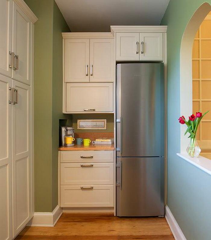 Как разместить холодильник, если места мало 1