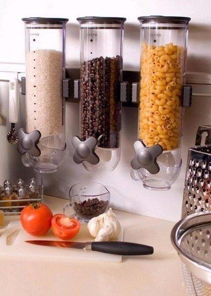 8 бесконечно удобных способов сэкономить место на кухне 1