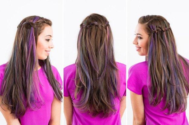 Как сделать красивые прически для длинных волос 6