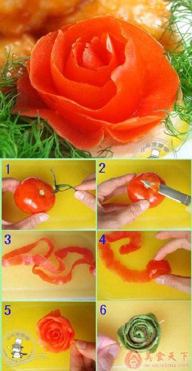 Как сделать красивые украшения из еды 5