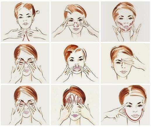 Как делать массаж против морщин 1