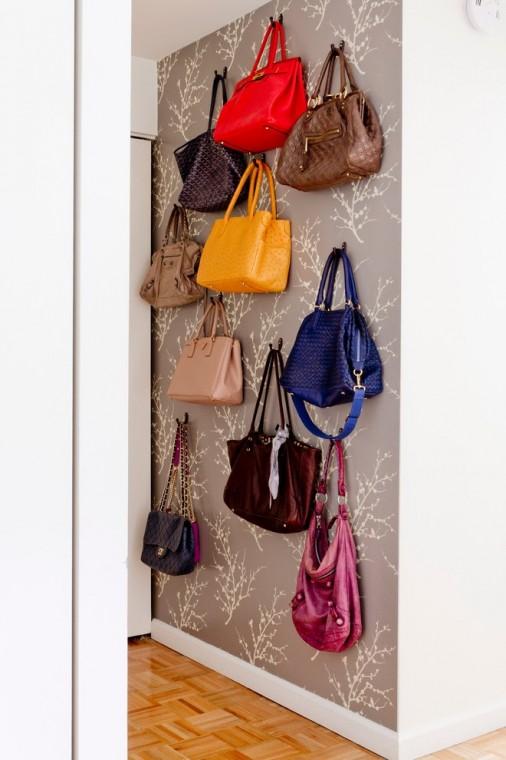 Храним женские сумочки лучшим образом 6