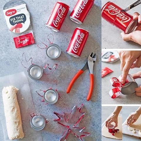 Как сделать фигурные формочки для печенья из жестяной банки 0