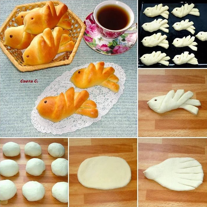 Идеи для красивой выпечки 5