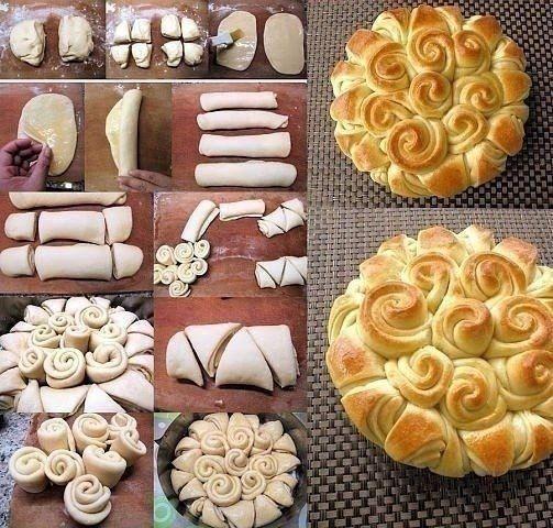 Как сделать нестандартные булочки 4