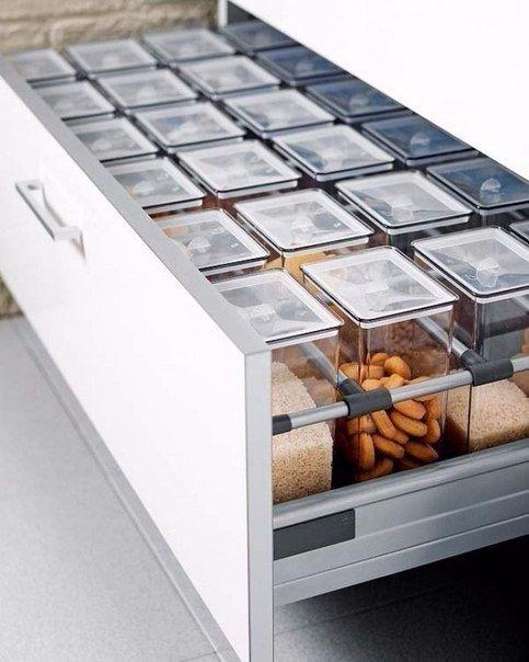 8 бесконечно удобных способов сэкономить место на кухне 3