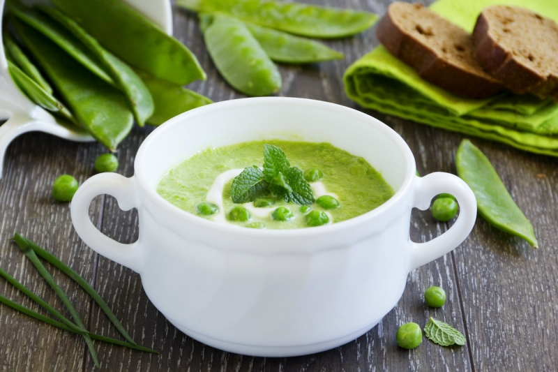 Сохраняем зеленый цвет трав в супе 0