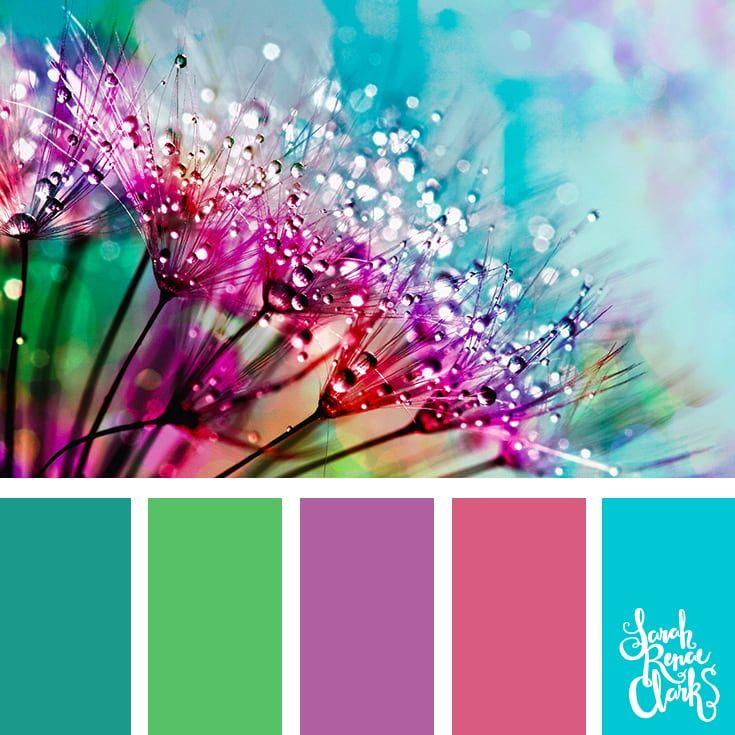Яркие и сочные сочетания цветов 0