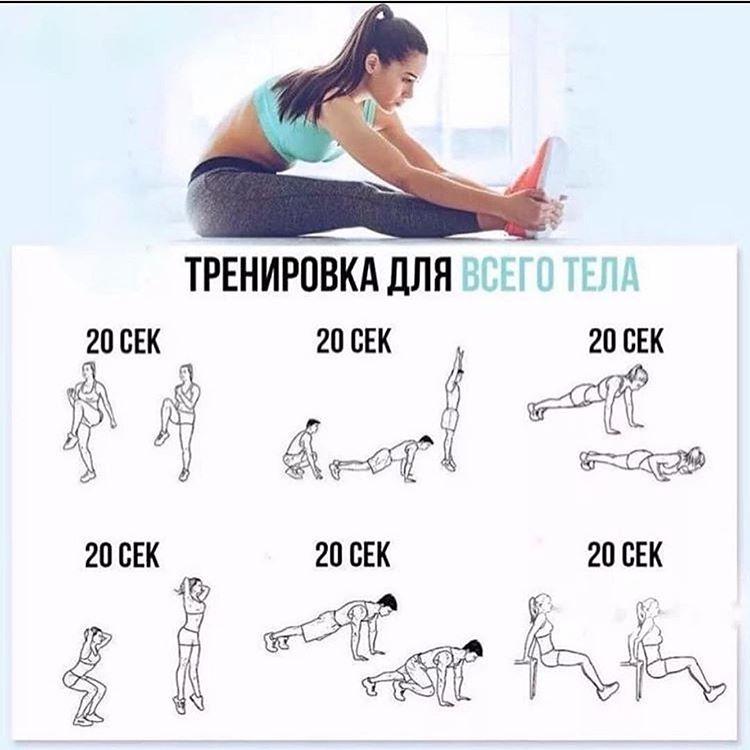Эффективная домашняя тренировка для похудения
