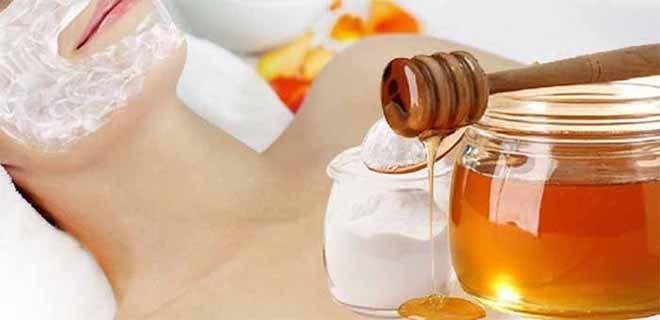 Как сделать нежный скраб для лица из соды и меда 0