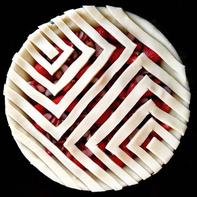 Интересные идеи декора пирогов 4