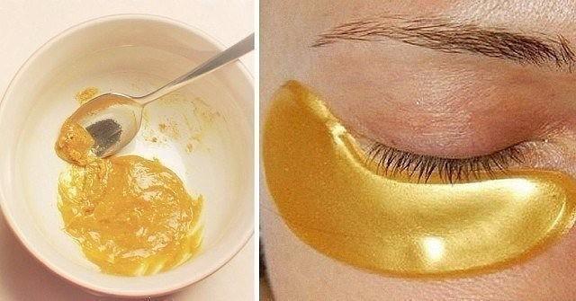 Маска для кожи вокруг глаз с куркумой - минус 5 лет за 15 минут 0