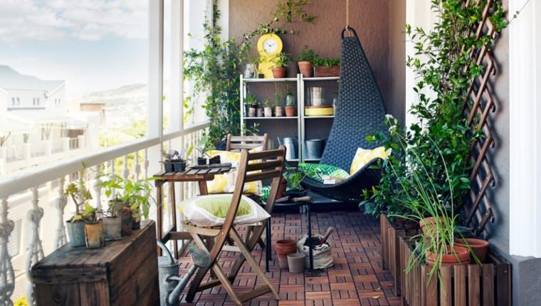 Идеи, как организовать уютный балкон 4