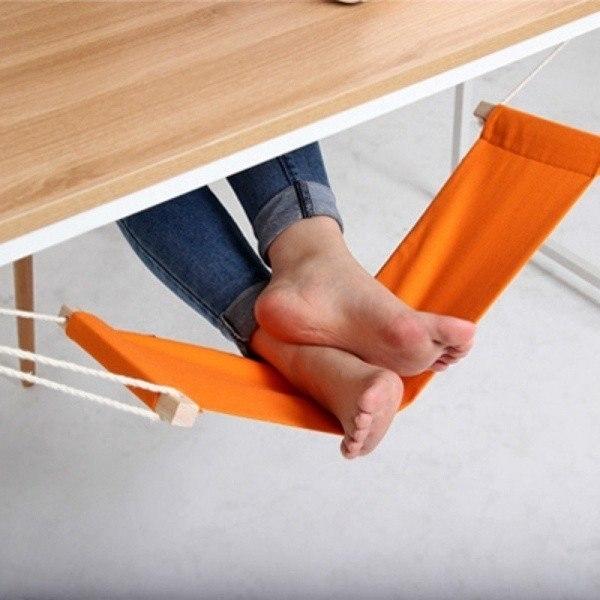 Гамак для ног под рабочим столом 0