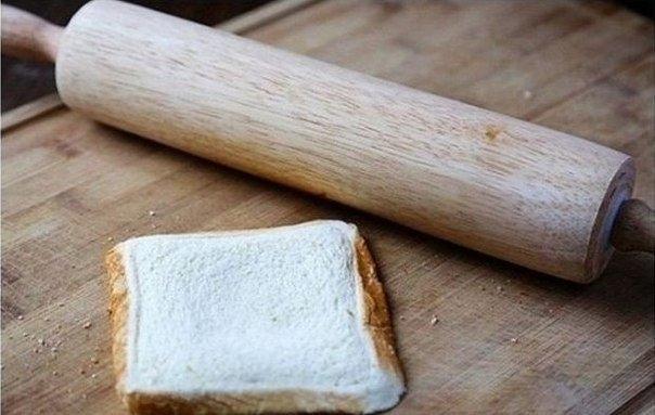 Как приготовить необычный бутерброд с сыром. 1