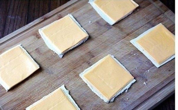 Как приготовить необычный бутерброд с сыром. 3