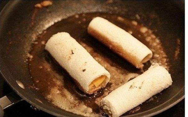 Как приготовить необычный бутерброд с сыром. 5