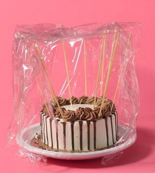 Чтобы торт не засох 0