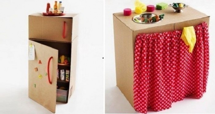 Потрясающие игрушки из коробок. 1