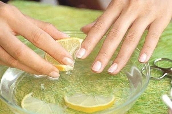 Уход за ногтями с помощью лимона 0