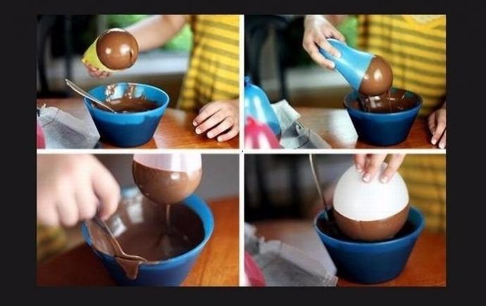 Шоколадные стаканчики 0