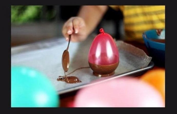 Шоколадные стаканчики 1