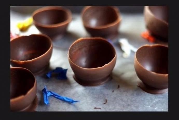 Шоколадные стаканчики 3