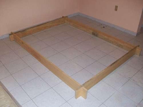Кровать из дерева 2