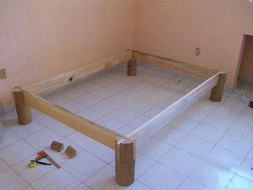Кровать из дерева 4
