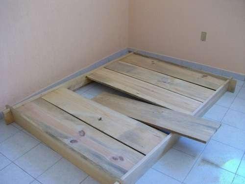 Кровать из дерева 5