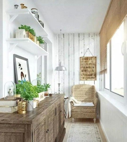 Подборка прекрасных идей для небольших балконов 2