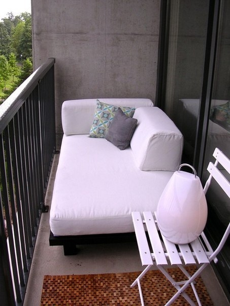 Подборка прекрасных идей для небольших балконов 3