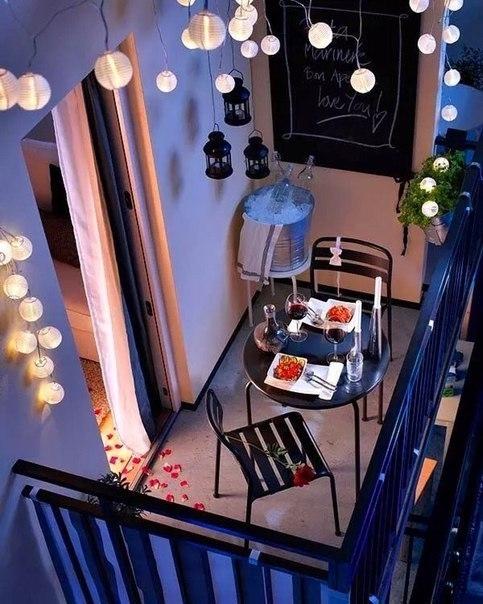 Подборка прекрасных идей для небольших балконов 7