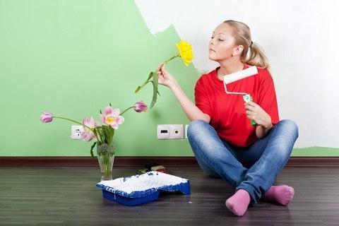 Чтобы удалить запах краски из помещения 0