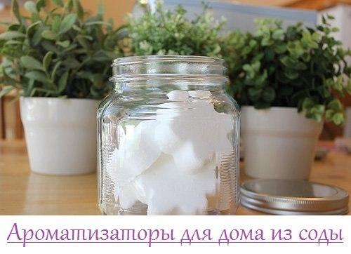 Ароматизаторы для дома из соды. 0