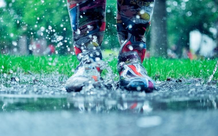 Способ высушить промокшую обувь 0