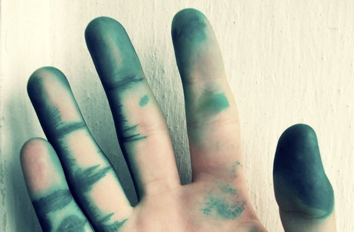 Как отмыть зеленку с кожи? 0